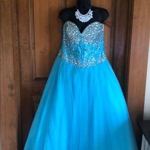 EUC Night Moves Quinceañera /Prom👗 Dress Size 14